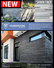 Thunderstone Quarries - Sawn Face Brochure - Jan 2014